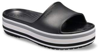 Crocs Bold Color Platform Slide Sandal