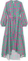Borgo De Nor Bella Floral-print Crepe Maxi Dress
