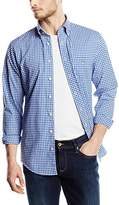 Gant Men's The Poplin Gingham Check Long Sleeve Regular Fit Casual Shirt,