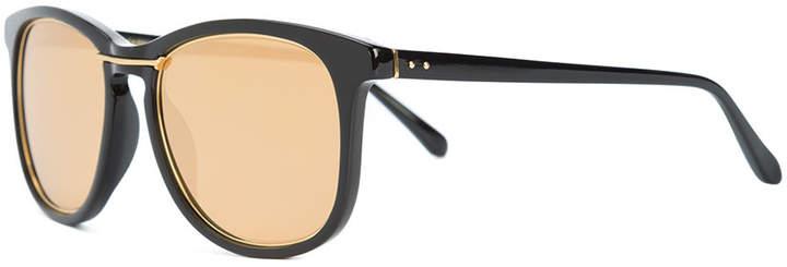 Linda Farrow wilmott wire detail sunglasses