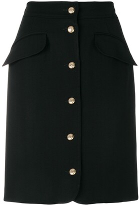 Moschino Pre-Owned Buttoned Skirt