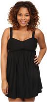 Athena Plus Size Finesse Underwire Swim Dress One-Piece
