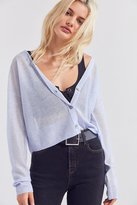 Cooperative Sheer Cropped Cardigan