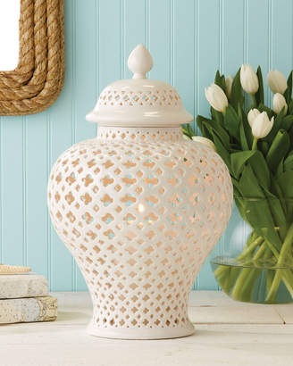 Twos Company Two's Company Carthage Large Candle Lantern