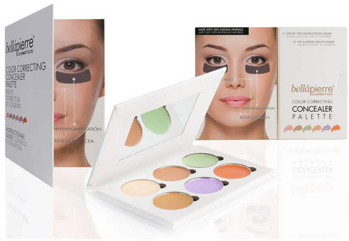 Bellapierre Cosmetics Cosmetics Colour Correcting Concealer Palette