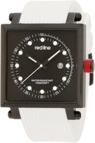 Redline Red Line Men's Specialist World Time Dial Red Silicone Watch RL-50037-BB-01-RD