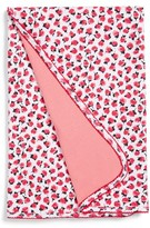 Kate Spade Rose Print Blanket