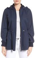 Bernardo Women's Micro Breathable Skirt Back Jacket