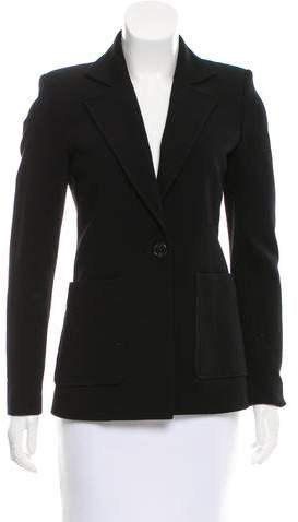 Derek Lam Notch-Lapel Structured Blazer