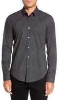 HUGO BOSS Men's Ronni Print Trim Fit Sport Shirt