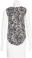 Isabel Marant Sleeveless Silk Top