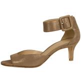 Pelle Moda Taupe Shimmer Sandal
