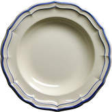 Gien Fliet Bleu Soup Bowl - White/Blue