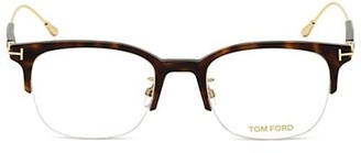 Tom Ford 52MM Plastic Square Optical Glasses