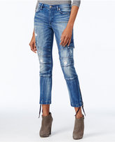 True Religion Halle Ripped Cargo Jeans