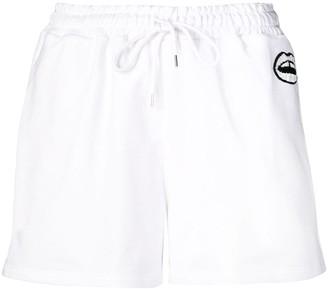 Markus Lupfer Nicole sequin lip shorts