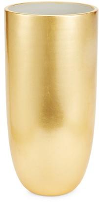 AERIN Medium Smooth Goldtone Vase