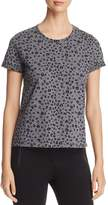 Scotch & Soda Leopard Print Burnout Tee