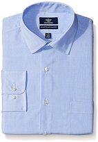 Dockers Blue Stripe Classic Shirt - Spread Collar