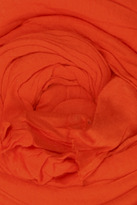 Yigal Azrouel Basic VJ Scarf in Clementine