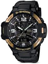 G-Shock Black & Gold-Tone Gravitymaster Watch, 50.8mm