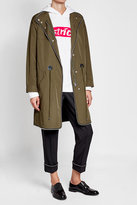 Alexander Wang Embellished Parka with Cotton