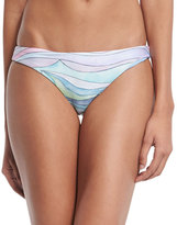 Mara Hoffman Waves Low-Rise Hipster Swim Bottom