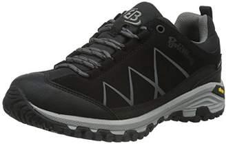 Bruetting Unisex Adults' Kansas High Rise Hiking Boots, Black Schwarz/Anthrazit