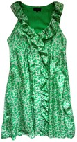 Adolfo Dominguez Green Silk Dress for Women