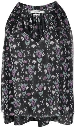 Etoile Isabel Marant Ryson geometric print blouse