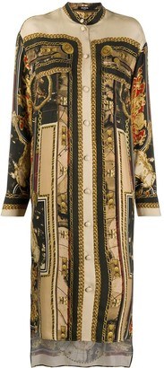 Balmain Printed Shirtdress