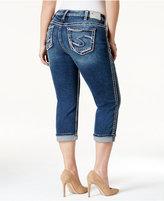Silver Jeans Plus Size Suki Capri Jeans