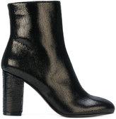 L'Autre Chose metallic ankle boots