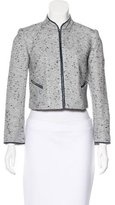 Magaschoni Embellished Tweed Jacket w/ Tags