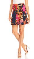 Trina Turk Julienne Pleated Flare Skirt