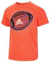 adidas Boys' Football Graphic Tee - Sizes 4-7