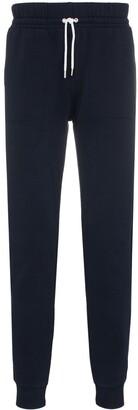 MAISON KITSUNÉ Tricolour Fox Patch Cotton Track Pants