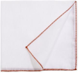 Simonnot Godard Men's Woven-Edge Pocket Square