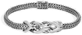 John Hardy Chain Silver Foxtail Bracelet