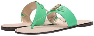 Lilly Pulitzer Rousseau Sandal (Gold Metallic) Women's Shoes