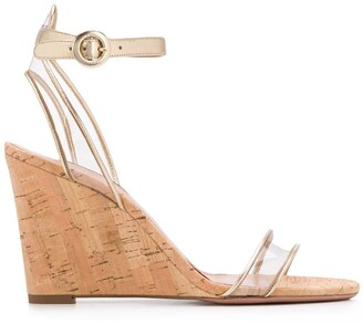 Aquazzura Minimalist wedge sandals