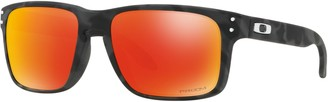 Oakley OO9102 Men's Holbrook Prizm Polarised Square Sunglasses