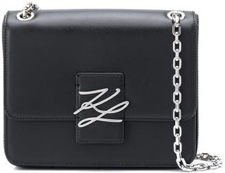 Karl Lagerfeld Paris K/Autograph logo shoulder bag