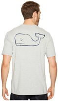 Vineyard Vines Short Sleeve Vintage Whale Pocket Tee Men's T Shirt