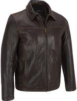 Wilsons Leather Mens Big & Tall Open Bottom Leather Jacket W/ Thinsulate Lining