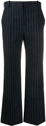 Nina Ricci Flared Pinstriped Trousers