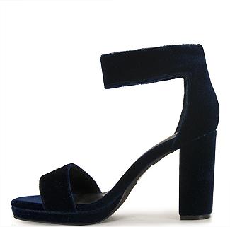 Jeffrey Campbell Lindsay - Velvet Platform Sandal