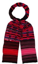 M Missoni Patterned Multicolor Scarf w/ Tags