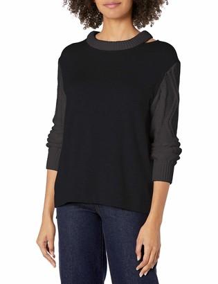 Bailey 44 Women's Long Sleeve Two Tone Sweater