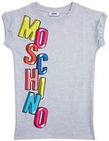 Moschino Bubble Logo Sweater Dress
